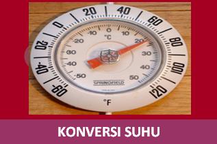 Latihan Soal Konversi Suhu Celcius, Reamur, Kelvin dan Farenheit