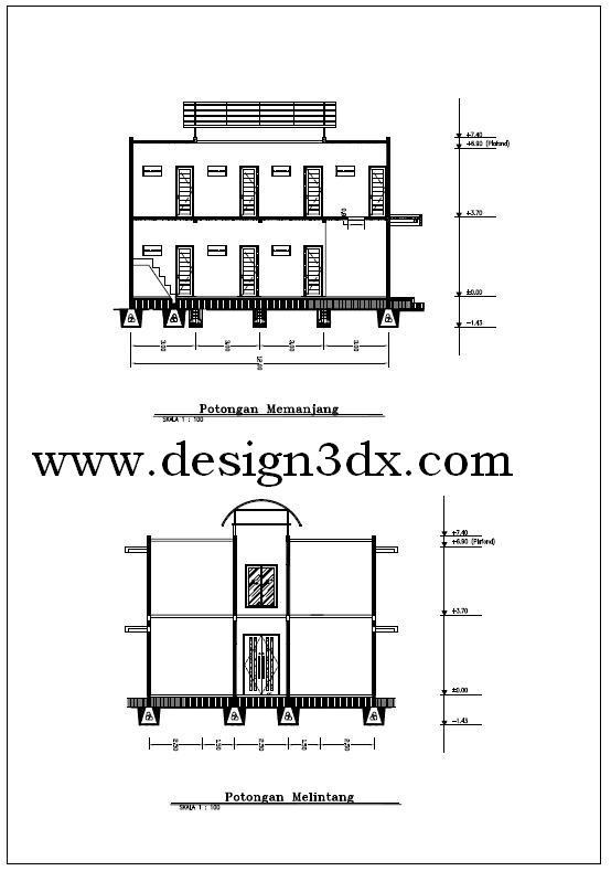 Image Result For Desain Rumah D Dengan Autocad
