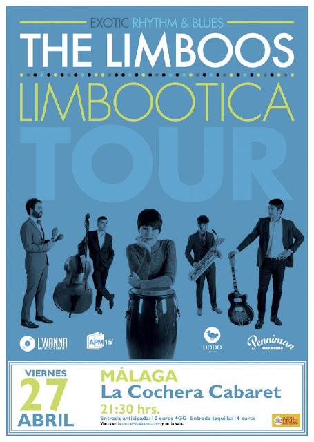 Concierto de The Limboos en Málaga
