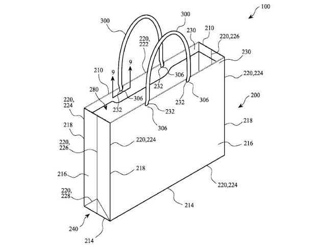 Apple wants to patent a system for production of paper bags