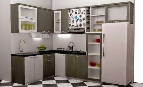 Kisaran Harga Kitchen Set Dilihat Dari Jenis Produknya Windah Saputro