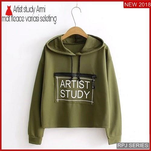 RPJ065S107 Model Sweater Artist Cantik Study Wanita