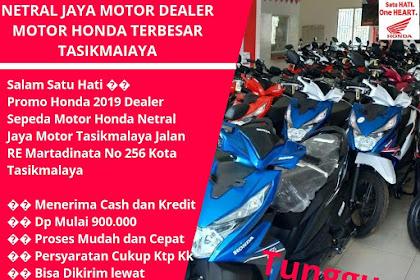 900 Ribu Dapat Motor Baru, Promo menarik di Dealer Motor Netral Jaya Motor TasikmaIaya