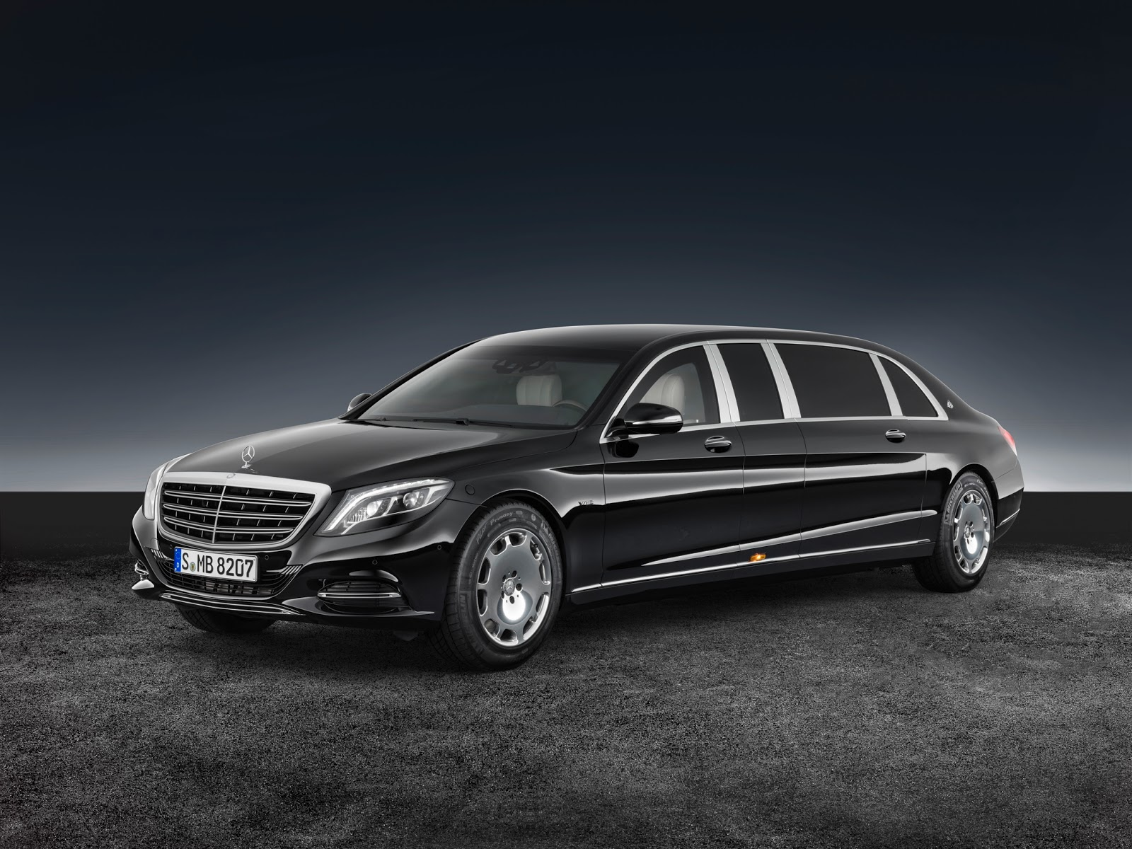 Scaldarsi motors maybach based 1 5 million emperor i is a sight to - Flagship Mercedes Maybach S600 Pullman Gets Armored Guard Variant
