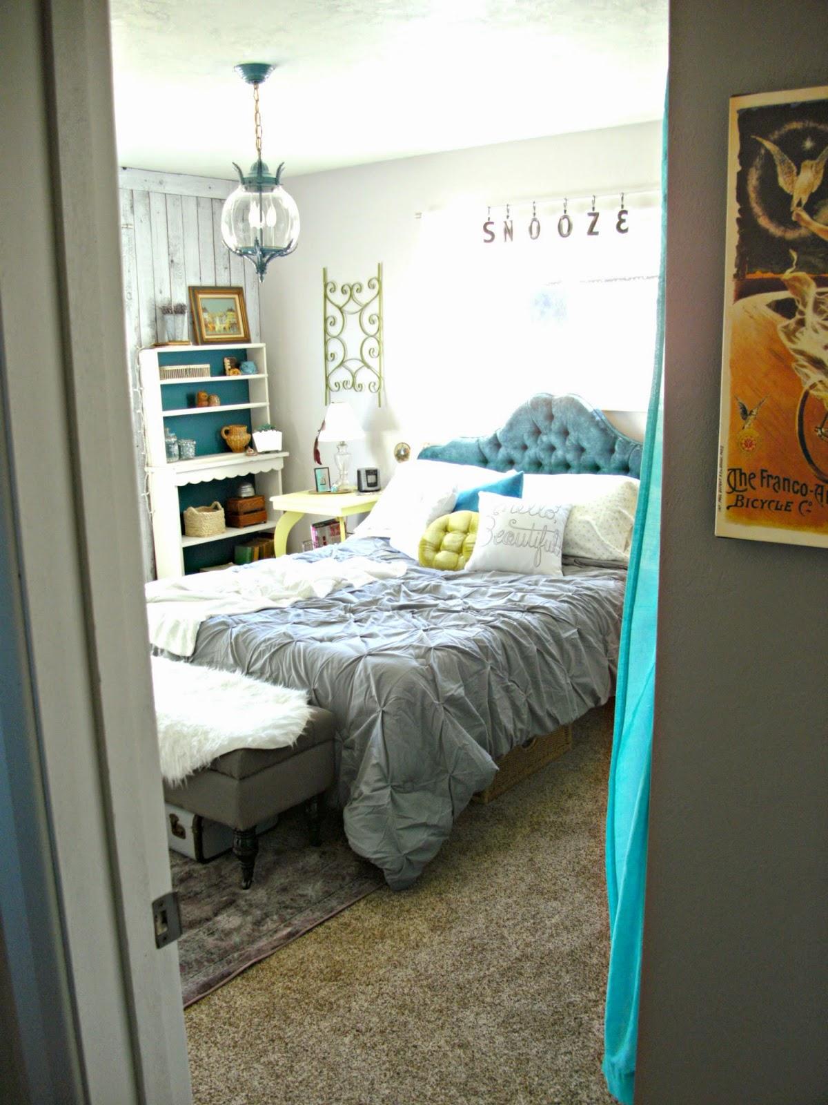 Boho bedroom details