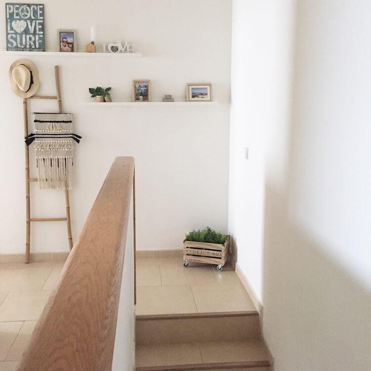 Hogar nórdico España-Canarias escalera