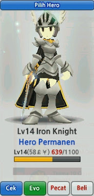 Iron Knight Evolution Lost Saga Indonesia