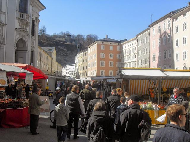 mercado en Salzburgo