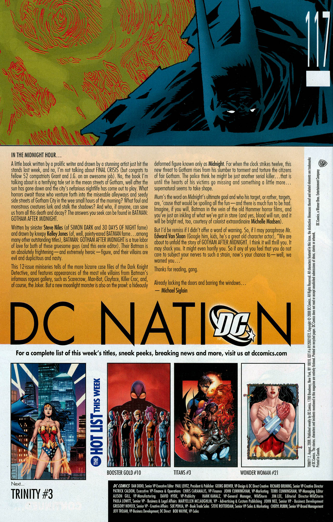 Read online Trinity (2008) comic -  Issue #2 - 31