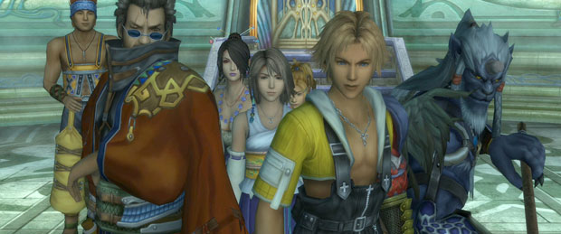 Final Fantasy X SD Vs HD Comparison
