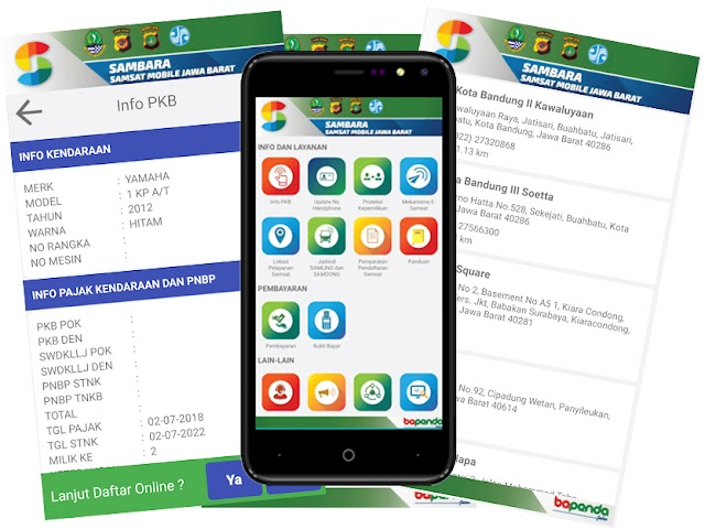 Aplikasi Sambara, Cara Mudah Cek Info dan Pajak Kendaraan Bermotor