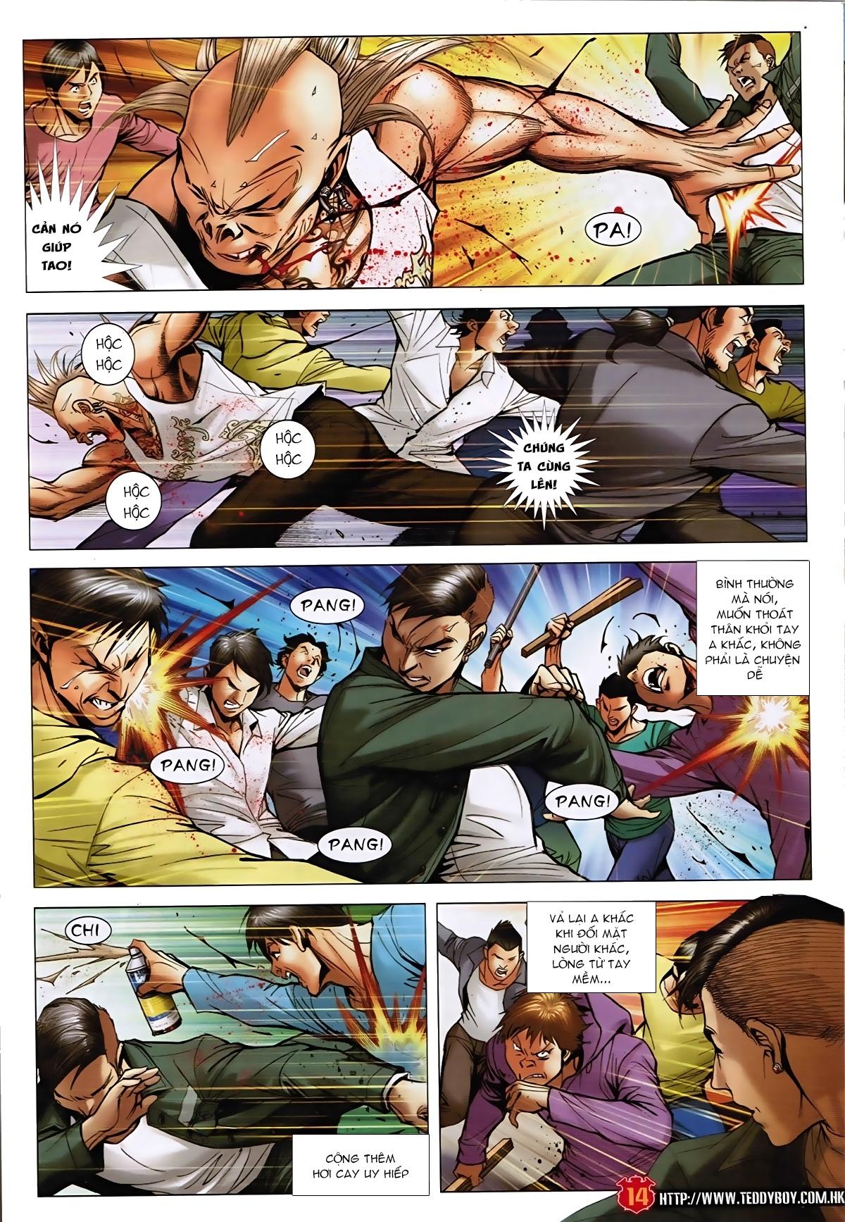 Người Trong Giang Hồ - Chapter 1591: Đến chết mới thôi - Pic 13