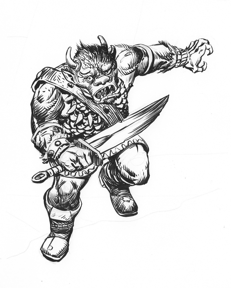 Old School DnD: Blorc
