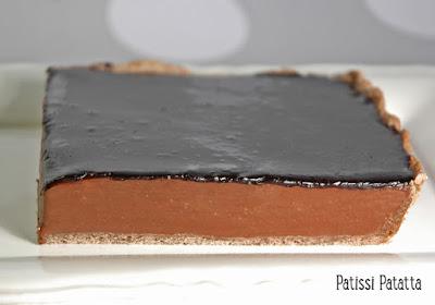 dessert de Pâques, chocolat, tarte, Christian Constant, tarte au chocolat