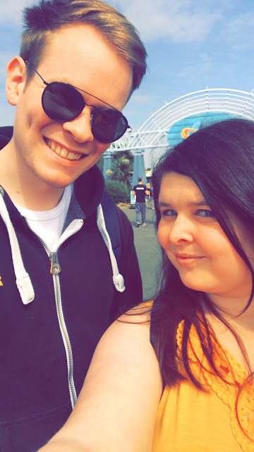 Thorpe Park Selfie