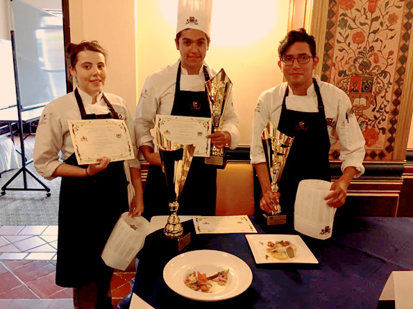 La USFQ gana el segundo lugar de la Cuarta Copa Culinaria Nacional Interuniversitaria