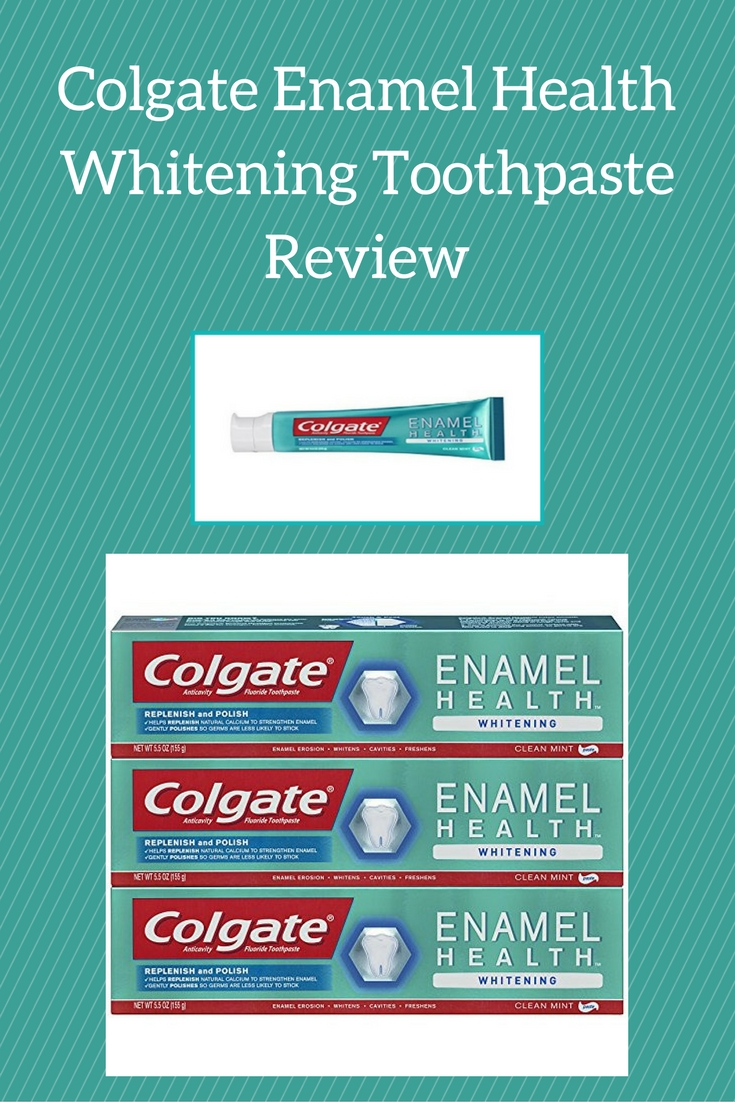 Colgate Enamel Health Whitening Toothpaste Review