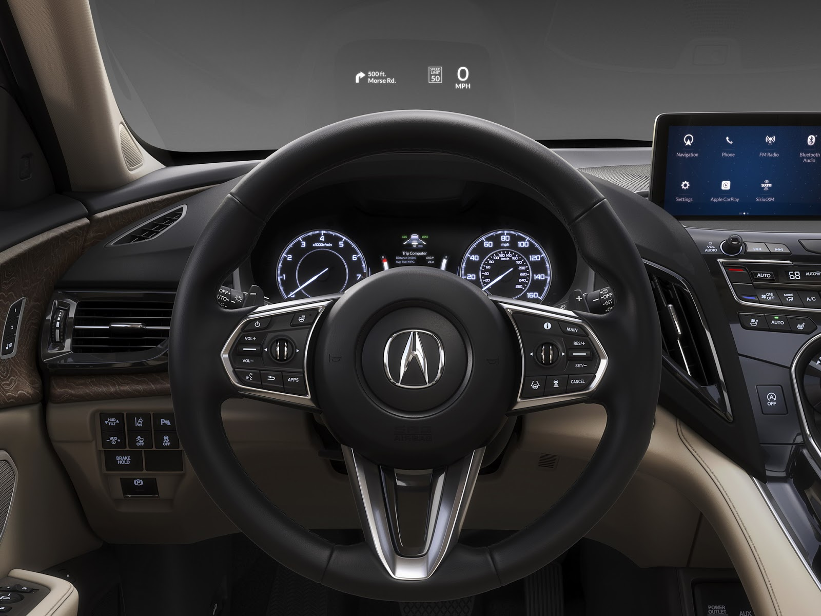 2019 acura rdx prototype packs more power more luxury. Black Bedroom Furniture Sets. Home Design Ideas