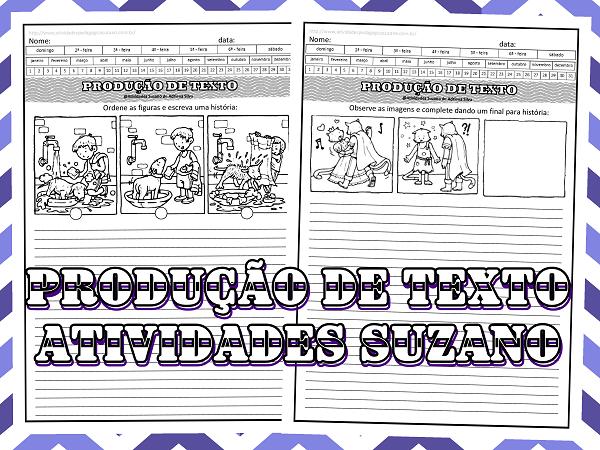 escrita-leitura-sequencia-lingua-portuguesa-produção-textual-atividades-suzano