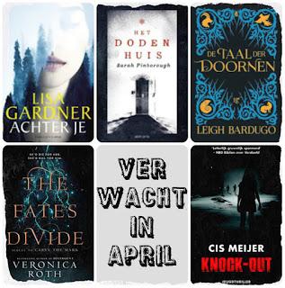 Lisa Gardner, Cargo,Sarah Pinborough, Van Goor, De Fontein, Blossom Books