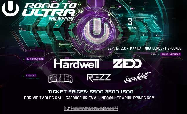 2017 Road to Ultra Live in Manila on September 15th