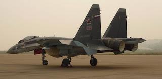 Jet Tempur Su-35