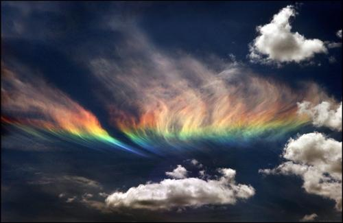 The most rare and beautiful natural phenomena 8. The Fiery Rainbow