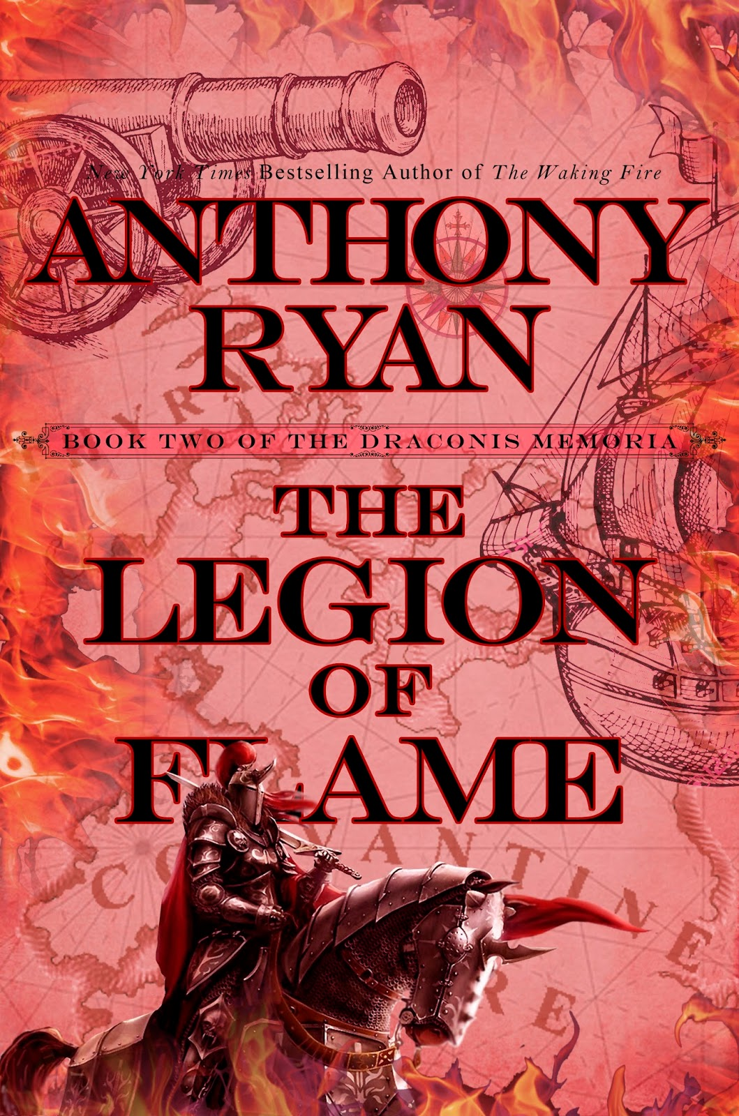 The Legion of Flame by Anthony Ryan (US Edition)