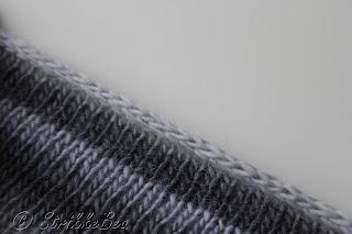 Abyssal sjal med I-Cord Bind-Off