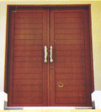 Cara Mengatasi Dan Mencegah Warna Kusen Pintu Jendela