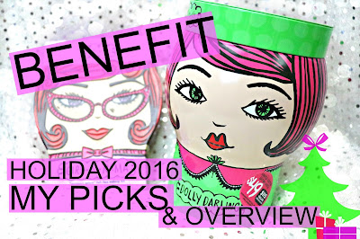 Benefit Holiday 2016 collection