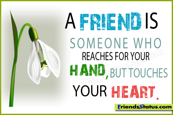 Good Heart Touching Quotes Life: Cute Wallpaper : Friendship Quotes
