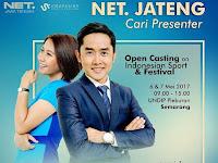 Dicari presenter NET TV Jawa Tengah