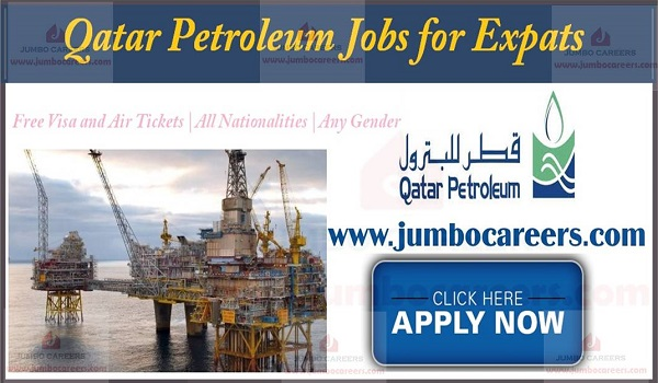 Qatar Government Jobs for Foreigners | Qatar Petroleum Jobs 2019