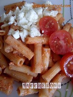 ricota tomate sauce pasta fertig gesund  schnell kochen