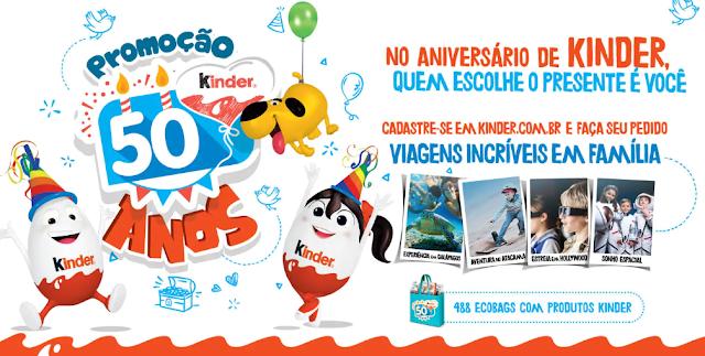 """Promoção: """"Kinder 50 Anos"""" Blog Top da Promoção www.topdapromocao.com.br #topdapromocao @topdapromocao  http://topdapromocao.blogspot.com Facebook Instagram"""
