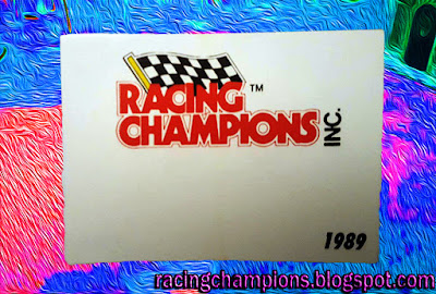 1989 Racing Champions Red #1 Ford Promo 1/64 NASCAR diecast blog