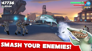 Hungry Shark World v1.2.4 Mod Apk (Unlimited Money)