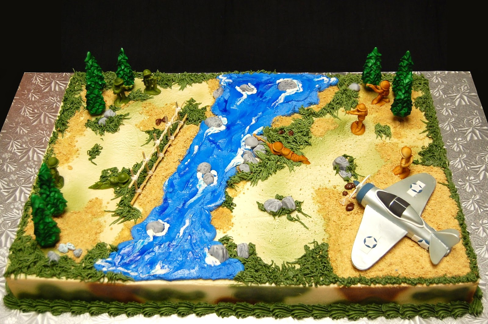 Drea S Dessert Factory Battlefield Cake
