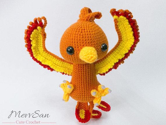 Phoenix Crochet pattern