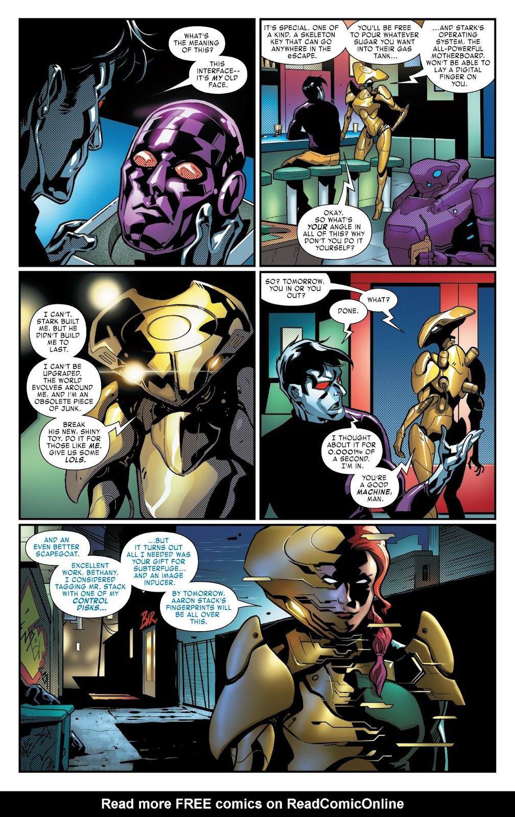 Read online Tony Stark: Iron Man comic -  Issue #3 - 14