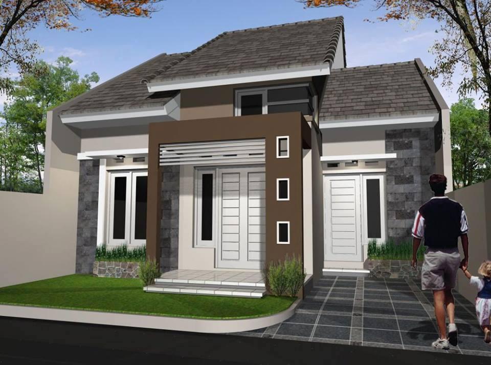 60 Contoh Desain Rumah Minimalis Type 36 2019-2020 - Andri ...