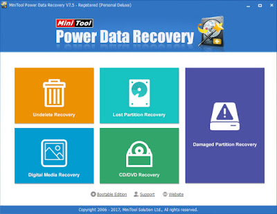 Screenshot MiniTool Power Data Recovery 7.5 All Edition Full Version