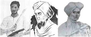 Kapiten Pattimura, Tuanku Imam Bonjol, dan Pangeran Diponegoro