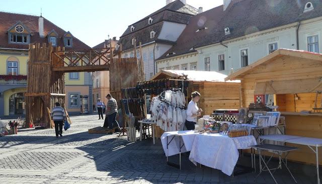 Mittelaltermarkt in Sibiu