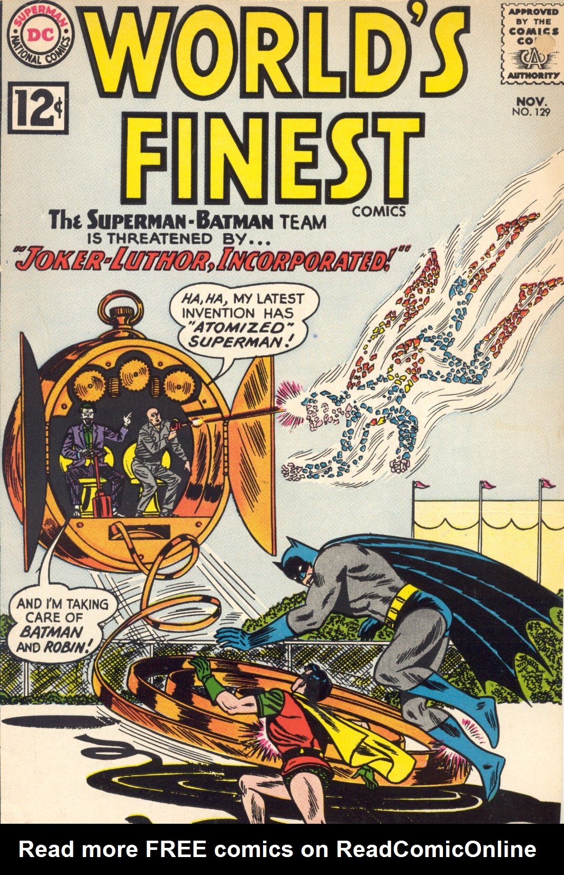 Read online World's Finest Comics comic -  Issue #129 - 1