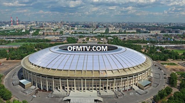 Luzhniki Stadium, Moscow, Russia.