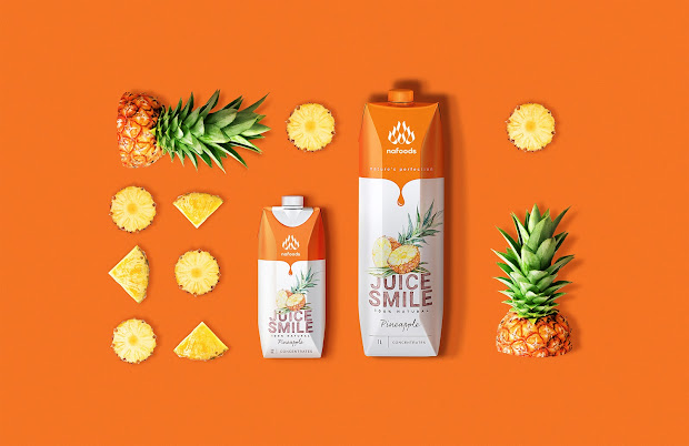 Juice Smile Packaging Of World - Creative Package
