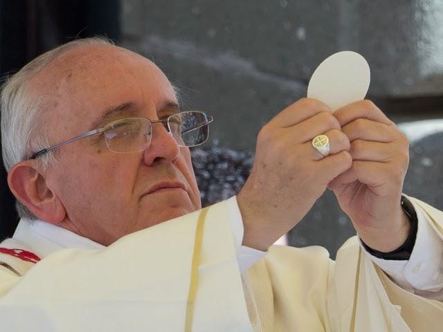 Pope Francis Eucharist