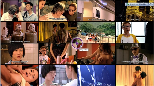 Screenshots Download Film Gratis The 3DD Invader (2011) BluRay 480p MP4 Subtitle Indonesia 3gp